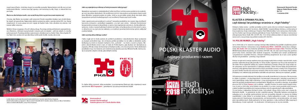 High Fidelity - wywiad z Polskim Klastrem Audio