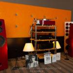Kolumny głośnikowe Avcon na Audio Show - Polski Klaster Audio